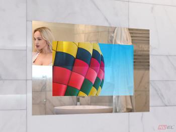 "19"" waterproof Mirror TV for Bathroom, Analog tuner (NTSC, PAL, SECAM), AVS190FS"