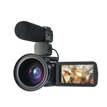 Ordro Portable Digital Video Camera HDV-Z20 1080p 30fps FHD Camcorder Built-in WIFI Remote Control Support HDMI output