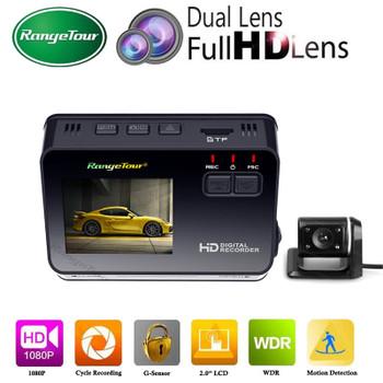 Range Tour Dual Lens Mini Hidden Car DVR Camera B10 Plus Auto Dash Cam Full HD 1080p 170 Degree G-Sensor Video Recorder Dashcam