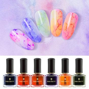 BORN PRETTY Blossom Nail Polish 6ml Multi Color Nail Art Design Blossom Manicure Lacquer Salon Beauty