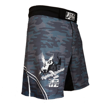 FFITE Men's Boxing Pants MMA Shorts Fight Grappling Short Polyester Kick Gel Boxing Muay Thai Pants Thai Boxing Shorts Mma