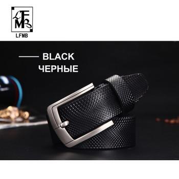 [LFMB] Belt Men Genuine Leather Designer Belts Men High Quality Luxury  Male Strap Cinturones Hombre