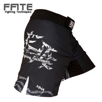 new mens mma shorts cheap mma muay thai kickboxing fight mma short Skull boxeo ropa grappling pants mma trunk sanda sport fights