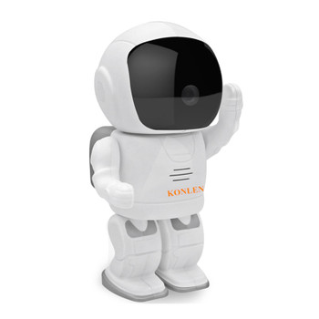 Robot IP Camera WIFI Spaceman Astronaut CMOS Wireless CCTV Security Video Cam P2P PTZ IR Night Vision Audio Video Baby Monitor