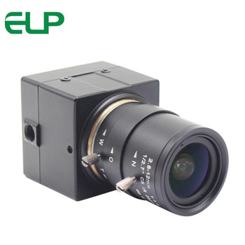 2.8-12mm Manual Zoom Varifocal 2MP MJPEG 120fps 640*480,60 fps at 1280*720,30fps at 1920*1080 Mini box Cmos Usb Camera HD 1080P