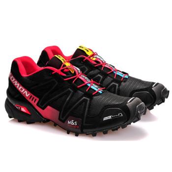 Salomon Speed Cross 3 CS III Men running shoes Brand Sneakers Male Athletic Sport Sneakers zapatillas Hombre Eur size 40-46