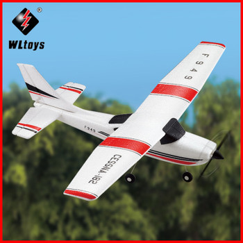 2019 WLtoys F949 Sky King 2.4G RC Aircraft Fixed-wing RTF Airplane Radio Remote control Plane 3CH RC Fixed Wing WL F949 drone