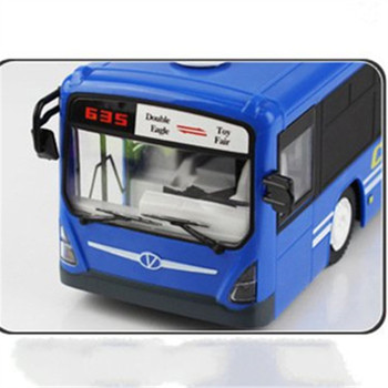 Simulation Remote 2.4G Remote Control Bus Car Charging Electric Open Door RC Model Toys For Children Birthday Holiday Gifts