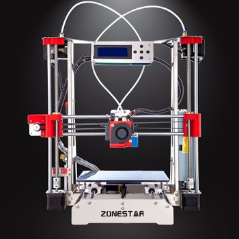 Auto Leveling Easy assemble Full Metal Reprap i3 3D Printer DIY Kit Dual Extruder Filament Run-out Detection