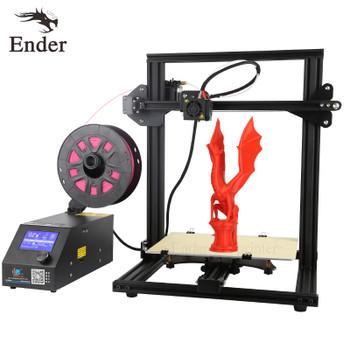 CR-10 Mini 3D printer Kit Large Print size 300*220*300mm Printer 3D and 200g Filament+Hotbed+8G SD card Creality 3D