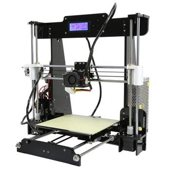 Cheap 3d printers 2018 factory price reprap prusa i3 Anet A8 3d printer diy kit aluminum nozzle extruder size 22*22*24CM
