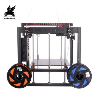 Hot Sale Flyingbear Tornado 2 DIY Full metal Linear rail 3d printer Kit with Large printing Size