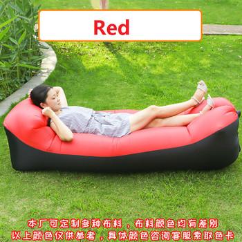 No Need Air Pump! Latest Portable Bean bag Chair for Baby Adult Inflatable Air Sleeping Sofa Outdoor Lazy Banana Beach Bed