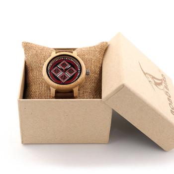 2017 BOBO BIRD Brand Women Bamboo Watches 37mm Wood Ladies Wristwatches Female Clock Lady Quartz Watch relogio feminino