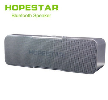 Hopestar H13 Bluetooth Speaker Wireless subwoofer Dual Bass Stereo Support USB TF AUX FM with Power bank charging for phone