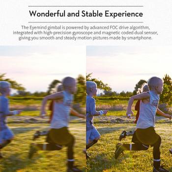 EYEMIND 3-Axis Gimbal Handheld Stabilizer for Smartphone iPhone Andriod Action Camera Yi Gopro Sjcam EKEN VS ZHIYUN Smooth 4