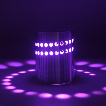 Modern 3W RGB LED Wall Lights AC85-265V Spiral Sconce Ceiling Lighting Fixtures fit for Indoor Home Aisle Foyer Bedroom Bedsides