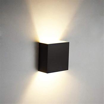 Cube COB LED Indoor Lighting Wall Lamp Modern Home Lighting Decoration Sconce Aluminum Lamp 6W 85-265V For Bath Corridor NR-126