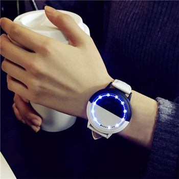 2017 Women Watch Simple Waterproof LED Round Big Dial Lovers Watch Smart Electronics Quartz Watches Clock Relogio Feminino