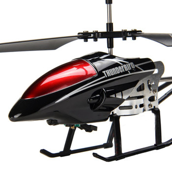 RCtown Alloy 3.5 Channels RC Helicopter Fall Resistant Electronic Charging Plane Model Toys for Kids D30