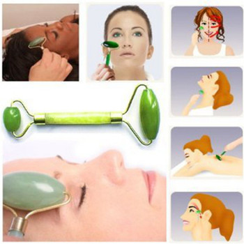 1Pcs Facial Massage Jade Roller Face Body Head Neck Nature Beauty Device Face Health Massage Tool Z25