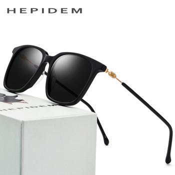 Acetate Sunglasses Men Polarized Brand Designer 2018 New Fashion d Squared Mirror Korean Sun Glasses for Women Screwless Eyewear