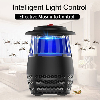 5W USB Electronic LED Mosquito Killer Light Safety Bug Zapper Mosquito Trap Insect Killing Lamp For Living Room Bedroom Kitchen