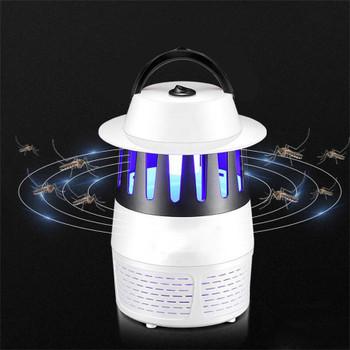 USB Electronics Mosquito Killer Trap Lamp Moth Fly Bug Insect Killer UV Lights LED Night Light Lamp Kill Pest Zapper Repeller