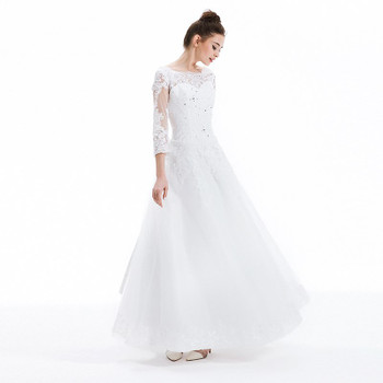 Wedding Dresses 2019 SOCCI Vestido De Noiva Luxury French Tulle Lace Bride Dress New Marriage Long Sleeve Vantage Bridal Gowns