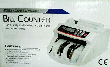 Money Counting Bill Counter Machine