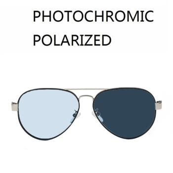 Vazrobe Photochromic Polarized Sunglasses Men Women Day Night Driving Sun Glasses for Man Transition Chameleon Aviation UV400