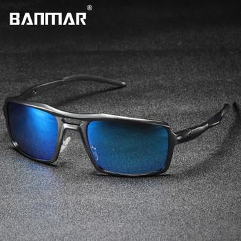 BANMAR Sunglasses Men Aluminum Magnesium Sun Glasses AL-MG Polarized Driving Male Eyewear Anti Glare Mirror Oculos De Sol 201962