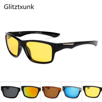 Glitztxunk Polarized Sunglasses Men's 2019 Driving Shades Male Sun Glasses For Men Retro Cheap Luxury Women Brand Designer Gafas