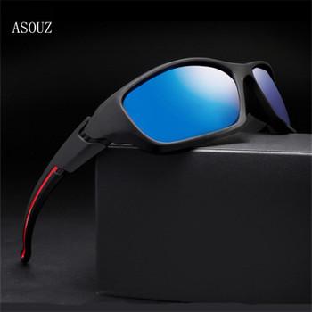 ASOUZ 2019 new men's polarized sun fashion UV400 ladies sunglasses classic brand design sports driving eye protection sunglasses