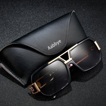 Aabbye Polarized Sunglasses Men Driving Metal Frame Sun Glasses Car Driver Anti-glare Glasses