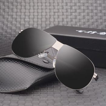 Vazrobe Nylon Polarized Sunglasses Men 145mm No Screw Oversized Sun Glasses for Man Driving Fashion Anti Reflection UV400
