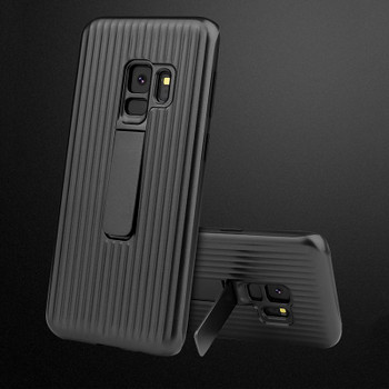 Leanonus Hard Slim Armor Case for Samsung Galaxy S9 S9Plus Car Magnetic Stand Holder Case for Samsung S9Plus Bracket