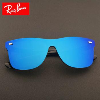 Brand Vintage Style Sunglasses Men Flat Lens Rimless Square Frame Women Sun Glasses Oculos Gafas