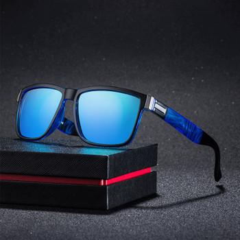 Classic Square Polarized Sunglasses Men Women Brand Designer Vintage Driving Goggle Retro Mirror Male Sun Glasses UV400 Oculos