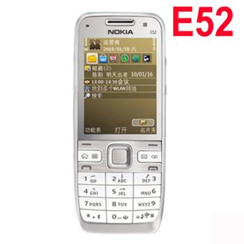 100% Original Nokia E52 Mobile Phone 3G Wifi Unlocked Russian Keyboard Arabic Keyboard E52 Cellphones