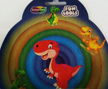 Funtools tools toy art tools set for kids by Creations 6 Pcs Dinosaur Set