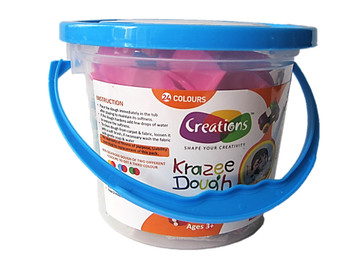 Kiddyclay clay toy art clay set for kids by Creations 750 gms