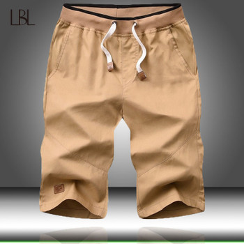 Summer Shorts Men Solid Beach Short Pants Casual Fitness Mens Boardshorts Male Sweatpants bermuda masculina 4XL 2019 New