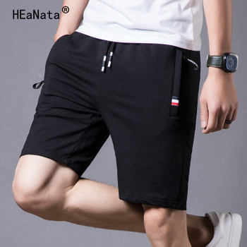 2019 New Summer Cotton Shorts Men Fashion Boardshorts Breathable Male Casual Shorts Mens Short Bermuda Beach Short Pants Hot