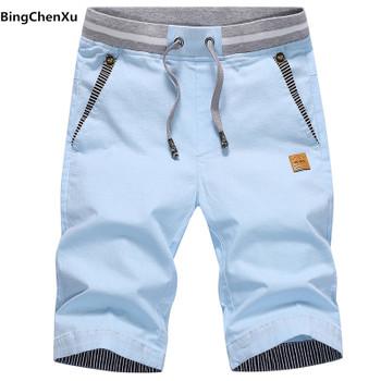 New Cotton Shorts Men Hot Sale Casual Beach Shorts Homme Quality joggers Elastic Waist Fashion Brand Boardshorts Plus Size 4938