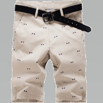 Men Shorts Boardshorts Shorts Homme Mens Brand Summer Beach Shorts Quality Bottoms Waist Straight Short Trousers Cotton Casual