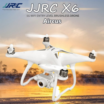 JJRC X6 GPS Drone Brushless Motor 5G WiFi Fpv 1080P HD Camera Professional RC Drones Quadcopter Follow Me Mode RTF