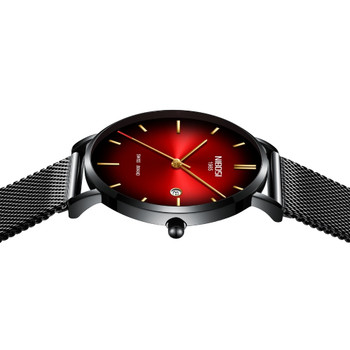 NIBOSI Watch Men Simple Fashion Swiss Brand Quartz Watch Luxury Creative Waterproof Date Casual Men Watches Relogio Masculino