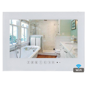 15.6 inch Android 4.2 Waterproof LED TV WiFi Bathroom TV - Black / White Color