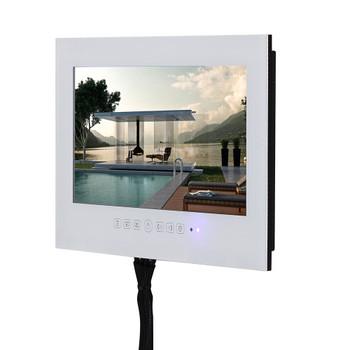 22 inch  White or Black HDMI HD IP66 Bathroom TV Waterproof TV